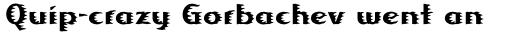 Linotype Albafire Pro Regular sample