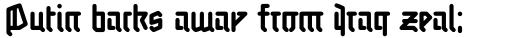 Linotype Auferstehung Pro Regular sample