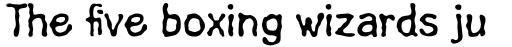 Linotype Fluxus Pro Regular sample