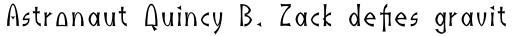 Indus Pro Regular sample
