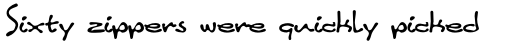 Linotype Inky Script Pro Regular sample