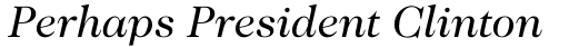 ITC Caslon No. 224 Std Book Italic sample