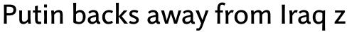 Linotype Projekt Pro Regular sample