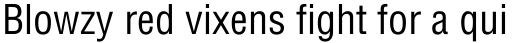 Helvetica Condensed sample