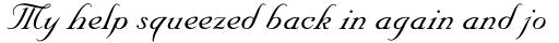 Nuptial Script Pro Medium sample