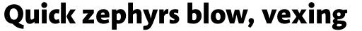 Linotype Aroma No. 2 Pro Extra Bold sample
