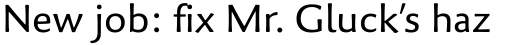Palatino Sans Pro Regular sample