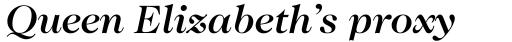 ITC Caslon No. 224 Std Medium Italic sample