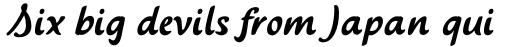 Saussa Pro Regular sample