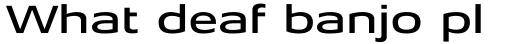 Aeonis Pro Extended Medium sample