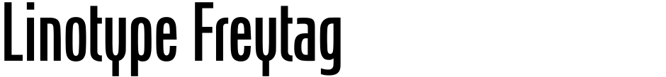 Click to view  Linotype Freytag font, character set and sample text