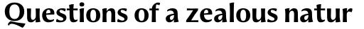 Aeris Pro Title B Bold sample