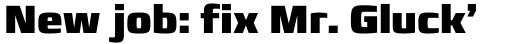 Francker Std Cyrillic Condensed Black sample