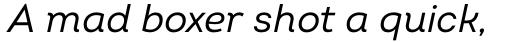 Intro Italic sample