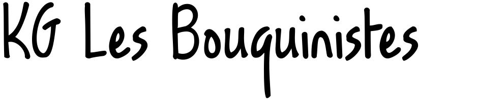 Click to view  KG Les Bouquinistes De Paris font, character set and sample text