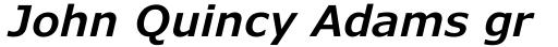Verdana Pro SemiBold Italic sample
