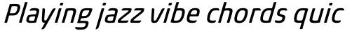 Biome Pro Narrow Italic sample