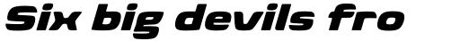 Biome Pro Wide Black Italic sample