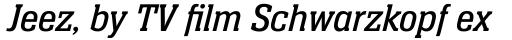 Neue Aachen Pro Book Italic sample