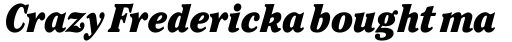 ITC Cheltenham Ultra Condensed Italic sample