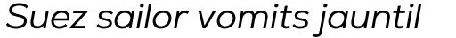 Nexa Book Italic sample