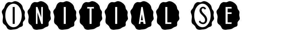 Click to view  Initial Seals JNL font, character set and sample text