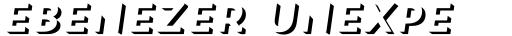 Trend Sans Two Italic sample