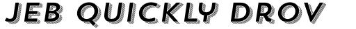 Trend Sans Four Italic sample