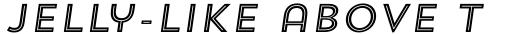 Trend Sans Five Italic sample