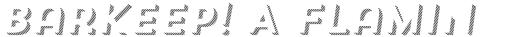 Trend Sans Three Italic sample