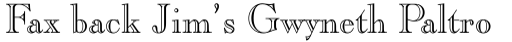Caslon Openface Std Regular sample