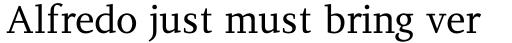 PF Diplomat Serif sample