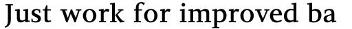 PF Diplomat Serif Medium sample