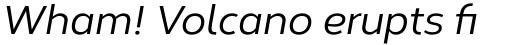 Corbert Medium Italic sample