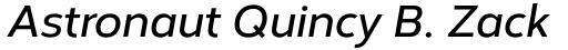 Corbert Demi Bold Italic sample