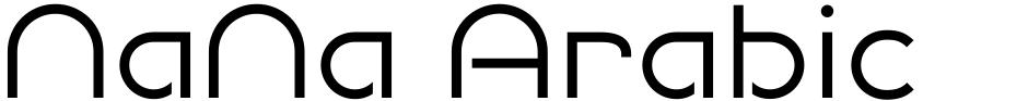 Click to view  NaNa Arabic font, character set and sample text