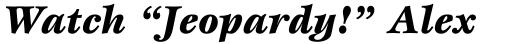 ITC Esprit Black Italic sample