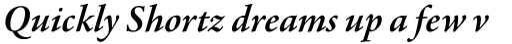Agmena Pro SemiBold Italic sample
