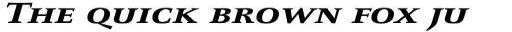 FF Celeste Small Text Pro Bold Italic SC sample