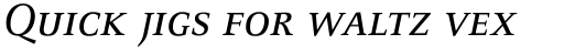 FF Celeste Small Text Pro Regular Italic SC sample
