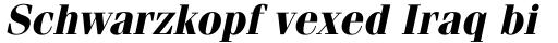 ITC Fenice Bold Oblique sample