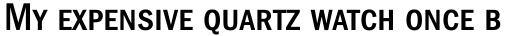 ITC Franklin Gothic Condensed Medium SC sample