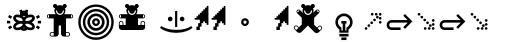 FF Eureka Std Symbols sample