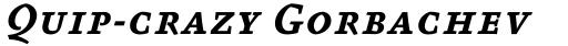 FF Absara Std Bold Italic SC sample