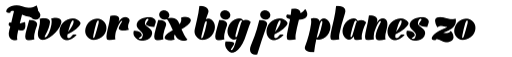 Barracuda Script Black sample