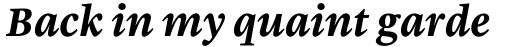 Malabar eText Bold Italic sample