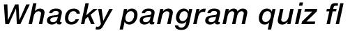 Helvetica Neue eText Pro Medium Italic sample