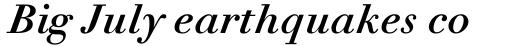 Linotype Didot eText Pro Bold Italic sample