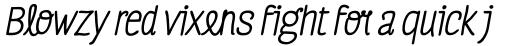 Four Seasons Pro Bold Italic sample