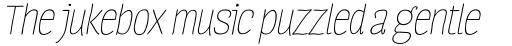 Four Seasons Essential Italic sample